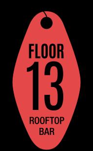Floor 13 Rooftop Bar - Floor 13 Rooftop Bar